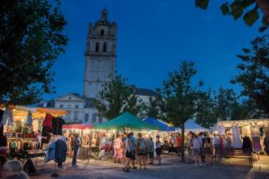 Marché nocturne Loches