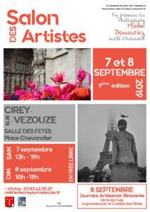 SALON DES ARTISTES Cirey-sur-Vezouze