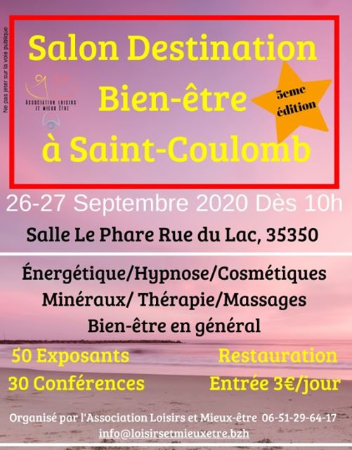 "Salon ""Destination Bien-Etre"" Saint-Coulomb"