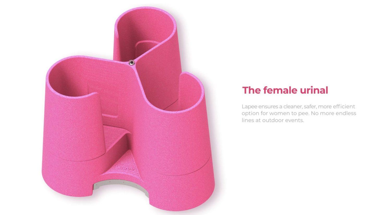 urinoir feminin lapee