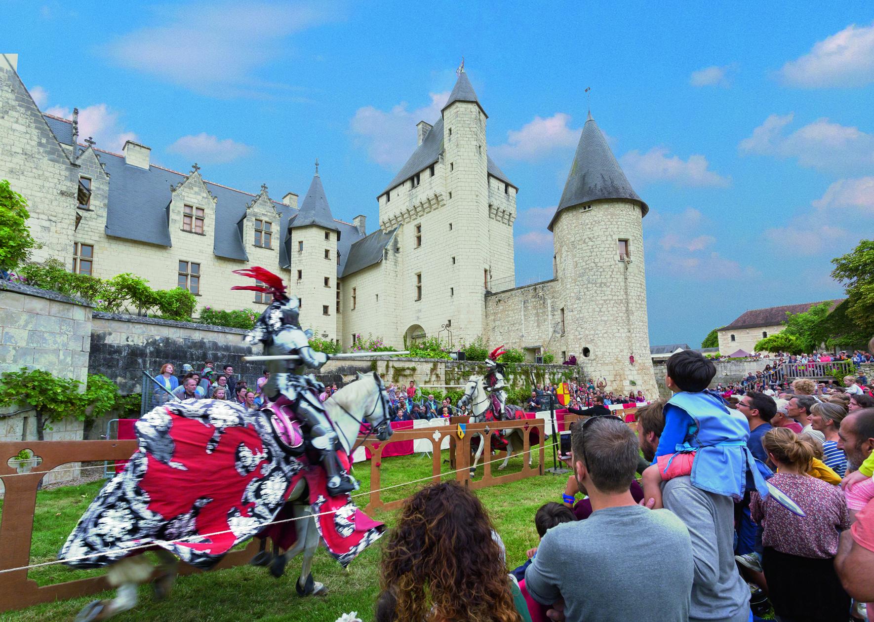 Joutes équestres au Château du Rivau 2021-08-14 Lémeré