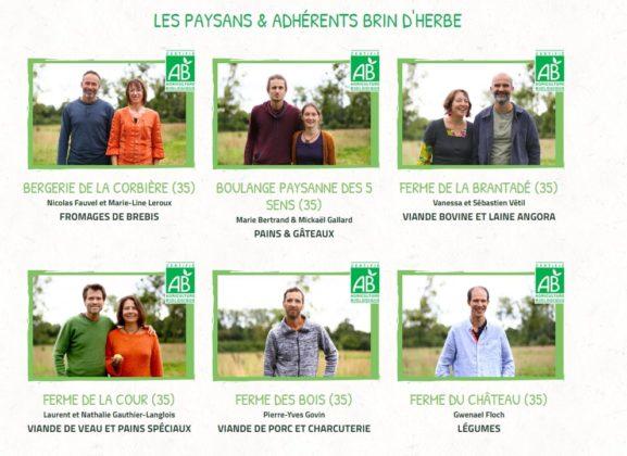 BRIN D'HERBE FERMES RENNES