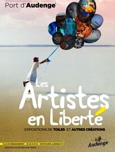Artistes en liberté : exposition-vente de peintures et de sculptures Audenge