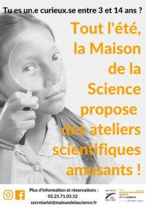 Ateliers scientifiques Sainte-Savine