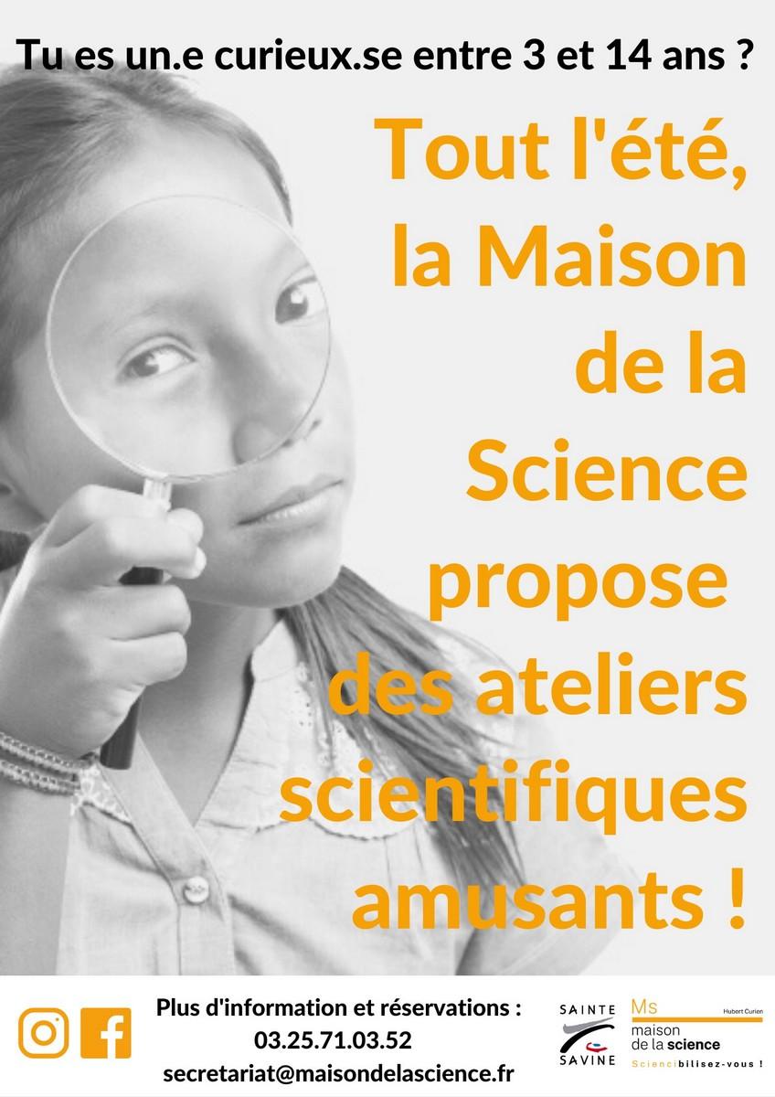 Ateliers scientifiques Sainte-Savine