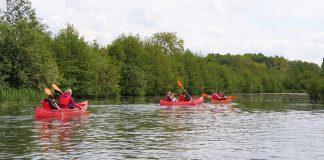 Au fil de l'eau en canoë Longpré-les-Corps-Saints