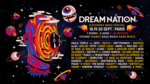 18-19-20 Sept 2020 | DREAM NATION FESTIVAL | PARIS Docks de Paris Aubervilliers