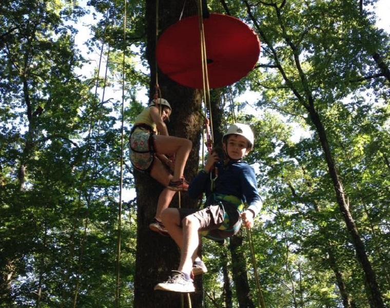Eté actif 2020 : Grimpe d'arbre Sarlat-la-Canéda