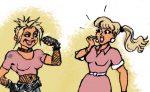 Evolution des rôles et de l'image de la femme dans la BD Bibliothèque Valeyre