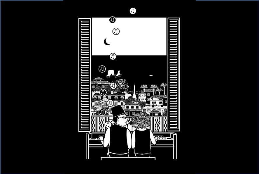 Le Piano oriental : une lecture dessinée en musique Médiathèque Marguerite Yourcenar