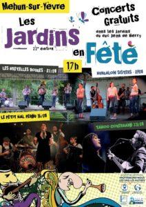 Les Jardins en fête : Mehun-sur-Yèvre