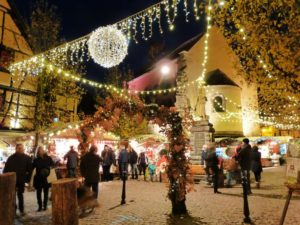 Marché de Noël authentique Eguisheim