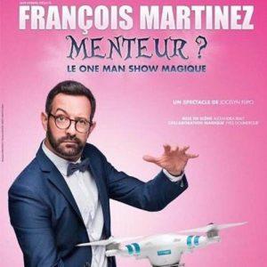 """François Martinez - """" Menteur ? """" Café Théâtre Le Bacchus Rennes"""