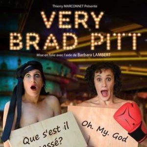 Very Brad Pitt Café Théâtre Le Bacchus Rennes