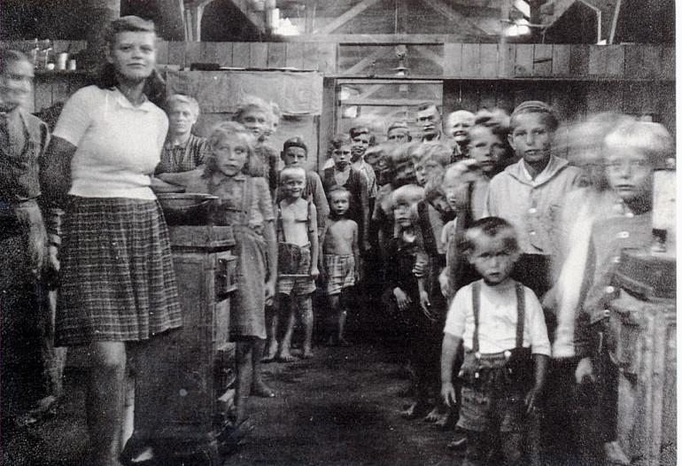 camps réfugiés allemands