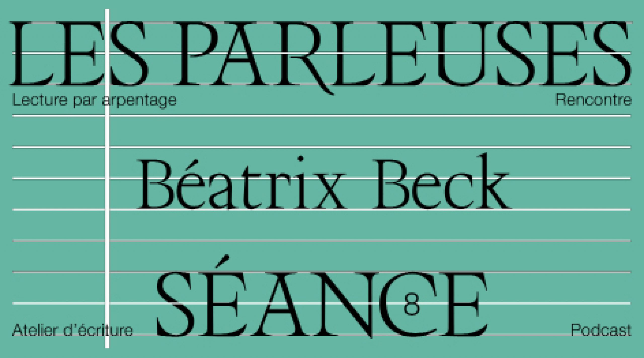 Les Parleuses #9 Béatrix Beck BPI et bibliothèque Kandinsky (Centre Pompidou)