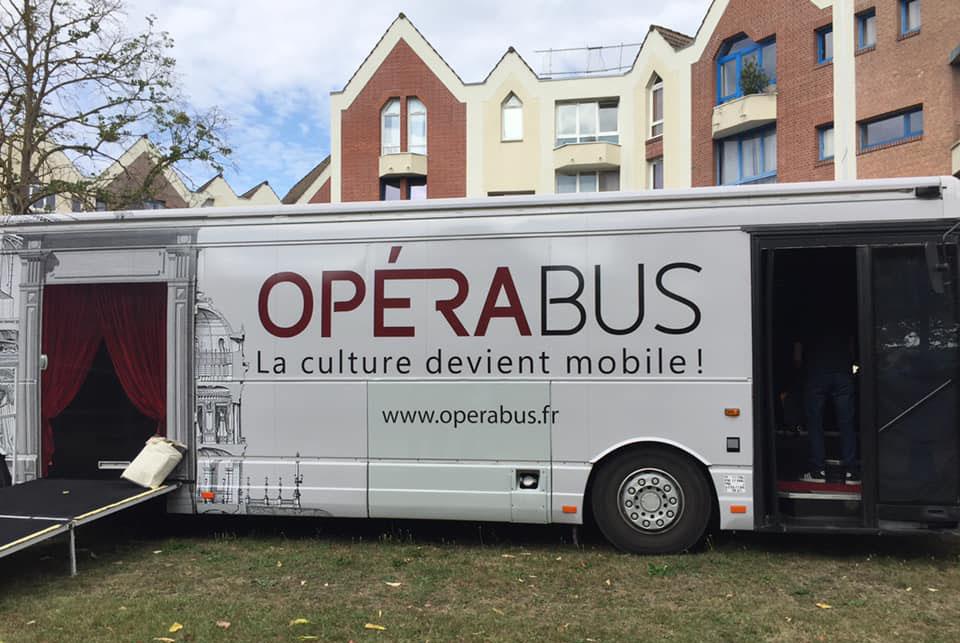 L'Opérabus débarque à Samoussy ! Samoussy