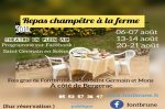 Repas champêtre à la ferme et scenettes de théâtre Saint-Germain-et-Mons