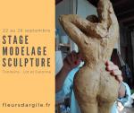 Stage Modelage Sculpture à la Poterie Les Fleurs d'Argile Tonneins