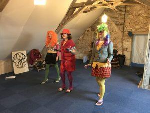 Stage clown de théâtre adultes pour développer son Intelligence Emotionnelle ThéâtreInlove Boulogne-Billancourt