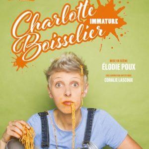 """Charlotte Boisselier - """" Immature """" Café Théâtre Le Bacchus Rennes"""