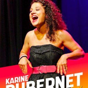 """Karine Dubernet - """"Souris pas ! """" Café Théâtre Le Bacchus Rennes"""