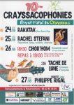 Crayssacophonies 2020 Crayssac
