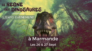 Exposition: Le Règne des Dinosaures Marmande