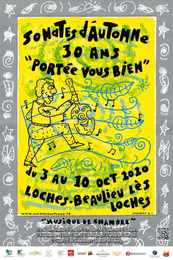 Festival sonates d'automne « Portée vous bien ! » Loches