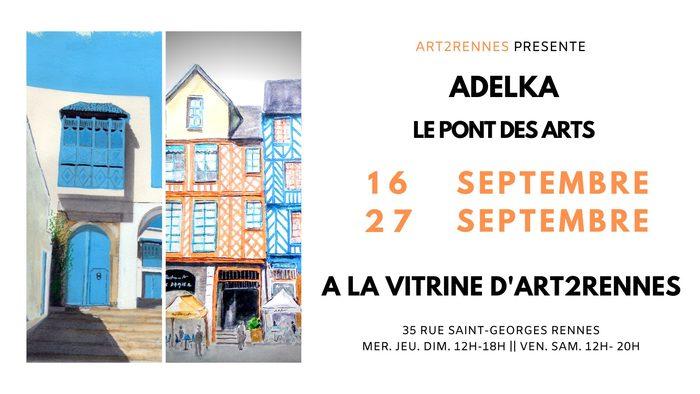 Expo le pont des Arts Galerie La Vitrine