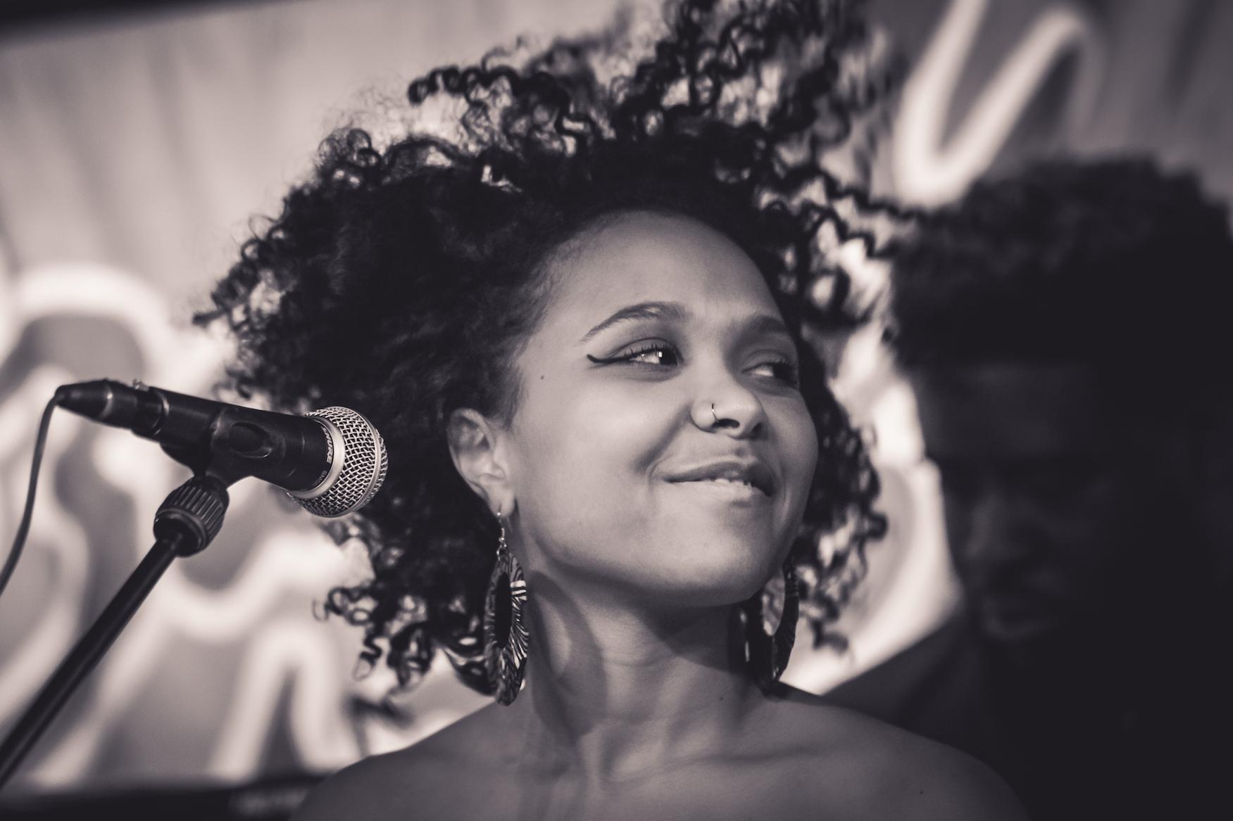 #JazzDeDemain CYNTHIA ABRAHAM Baiser Salé