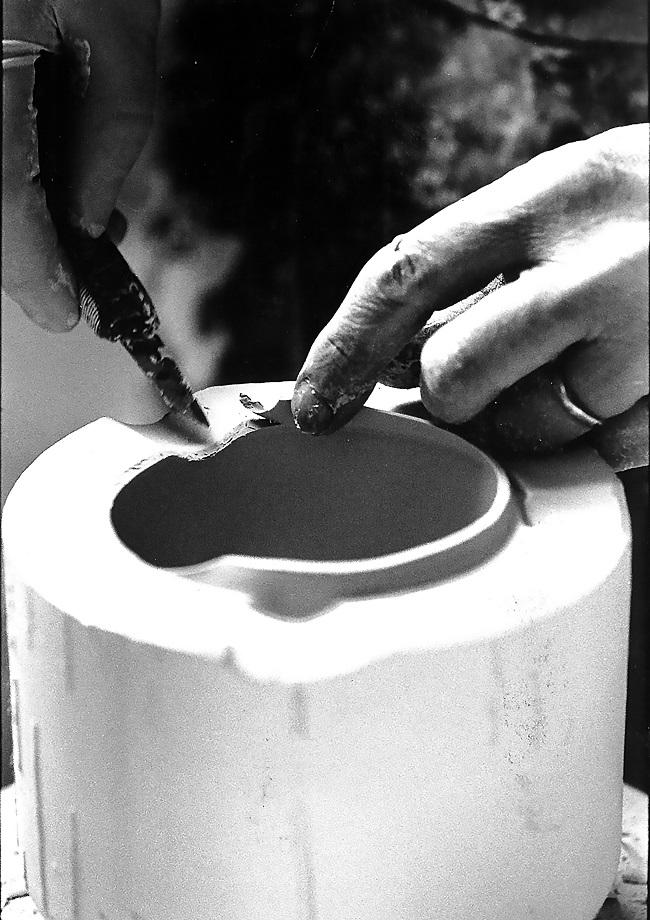 Journées Européennes du Patrimoine: Atelier de Décor aux Porcelaine de Virebent.
