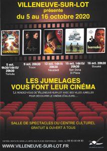 Les jumelages font leur cinéma Villeneuve-sur-Lot