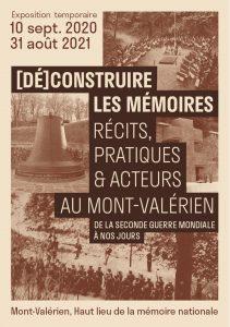 Vernissage de l'exposition « [Dé]construire les mémoires. Récits