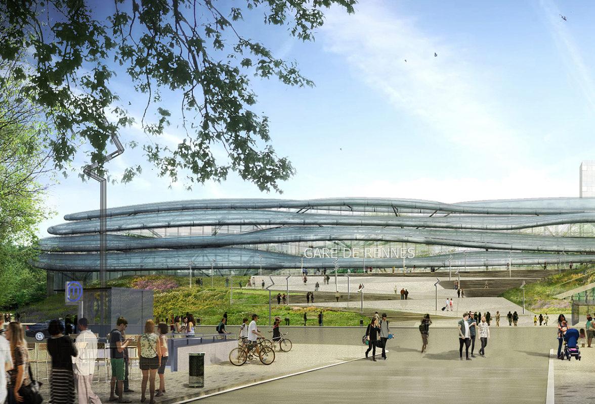 Nouvelle gare de rennes