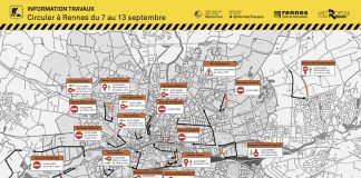 PLAN RENNES CIRCULATION