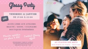 Glossy party 100% filles Thouars   2021-01-22