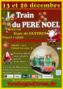 Le train du Père Noël Guîtres
