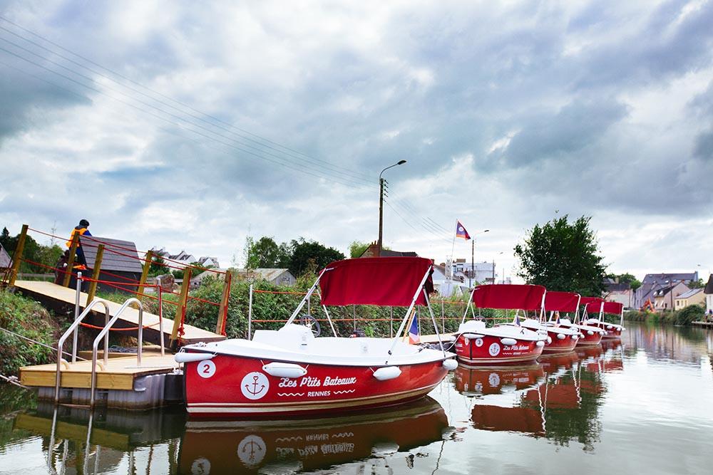 location bateaux rennes