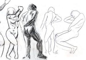 Stage de dessin de morphologie : les muscles du corps humain Musée du Louvre