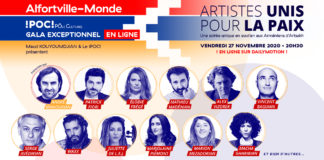 Artistes unis pour la paix Dailymotion Alfortville