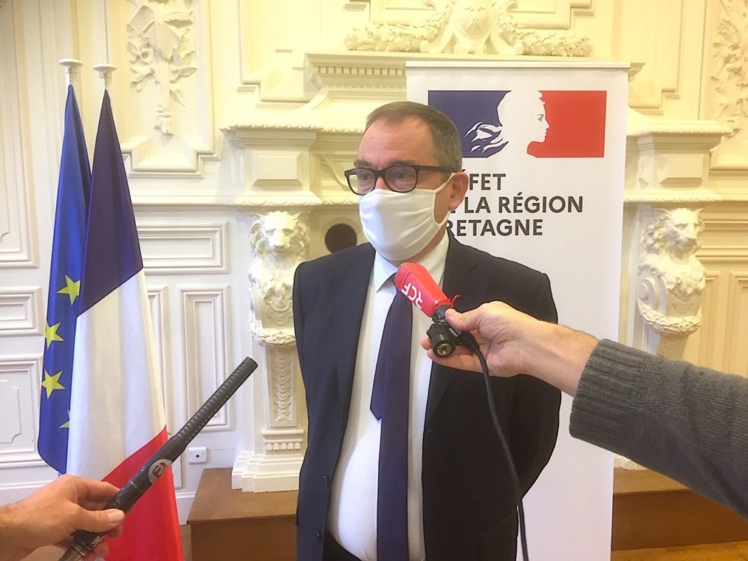 Emmanuel Berthier prefet bretagne