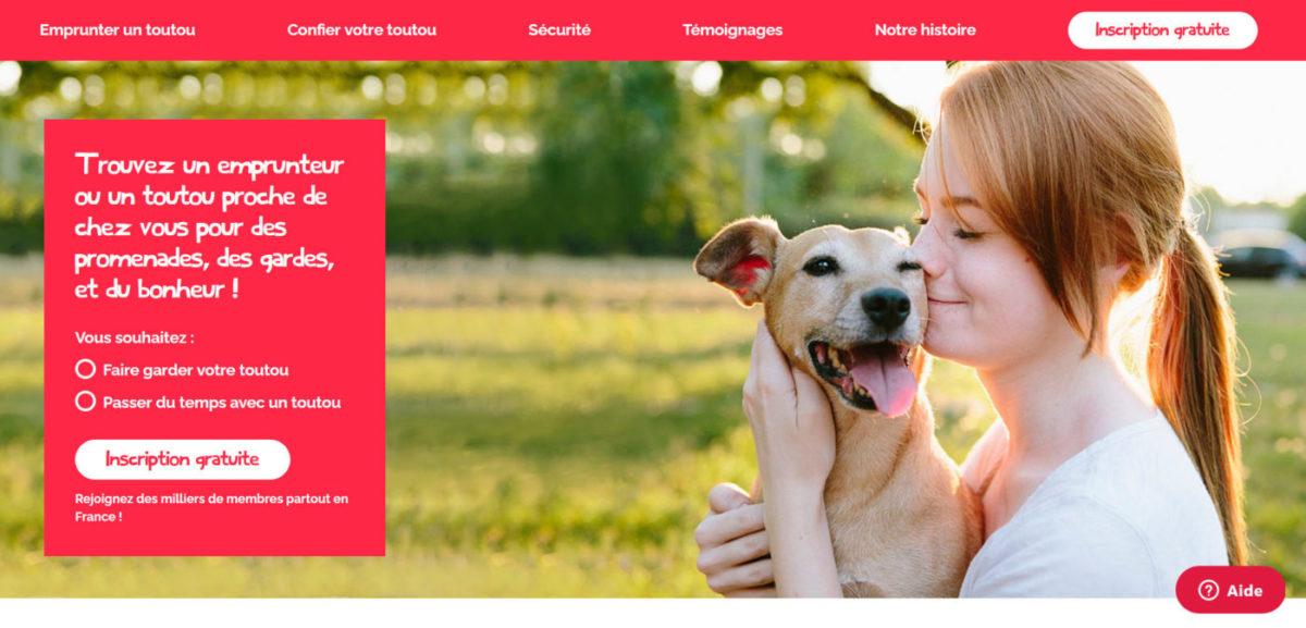Emprunte mon toutou, site de garde de chien gratuit