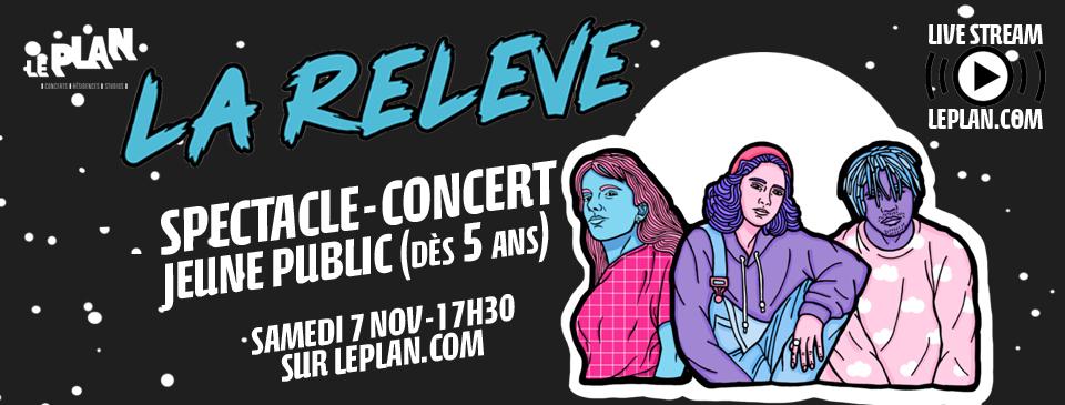 Jeune public : spectacle-concert retransmis en direct Le Plan