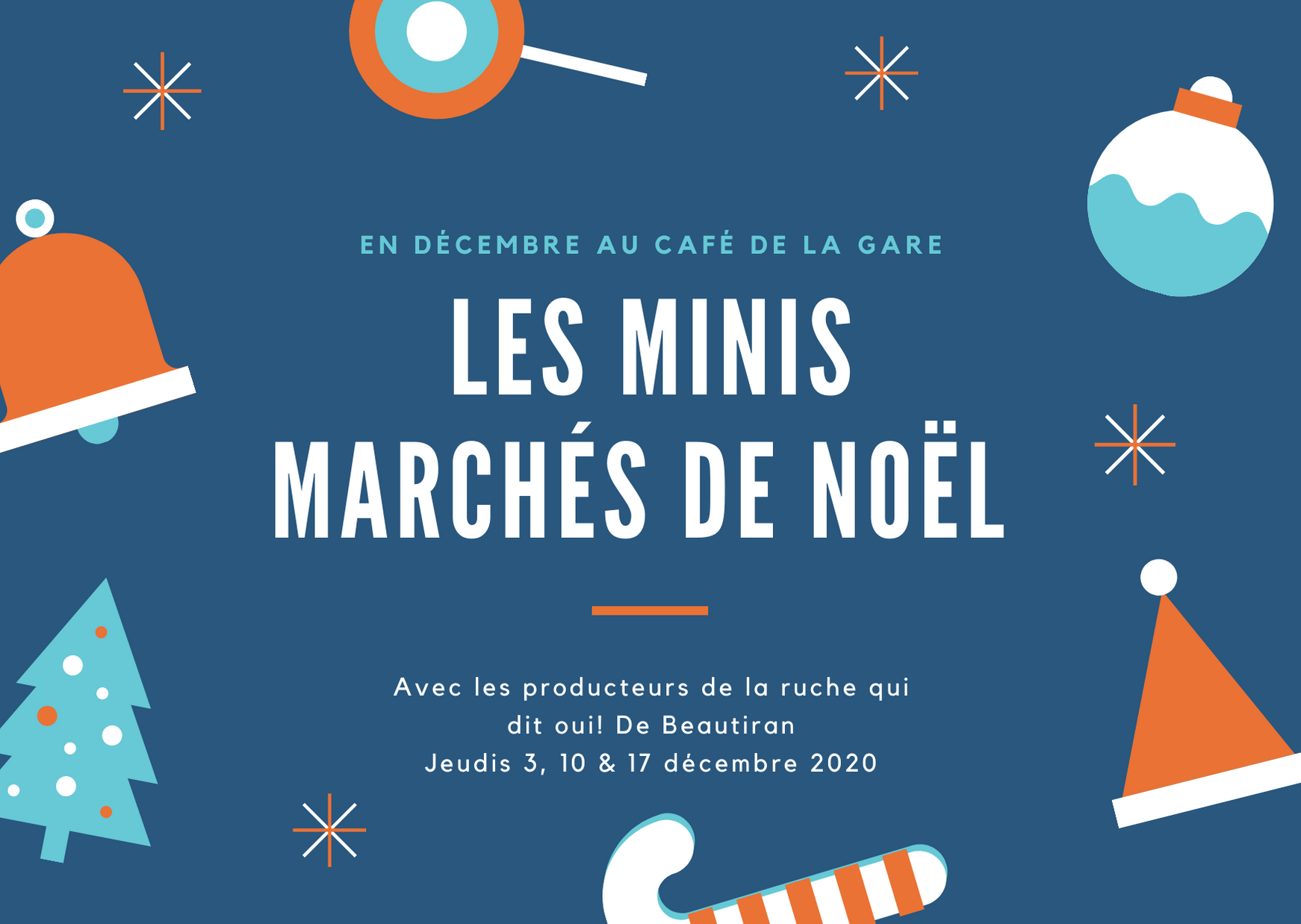 Mini marché de Noël des Ruches Qui Dit Oui! Beautiran