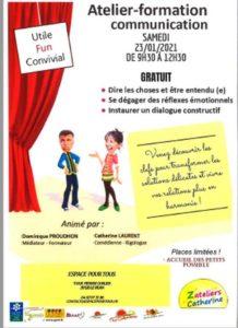 Atelier - Formation Communication Le Vigan   2021-01-23
