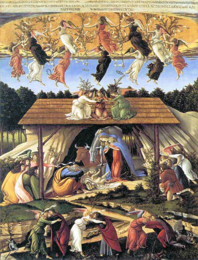 botticelli nativité