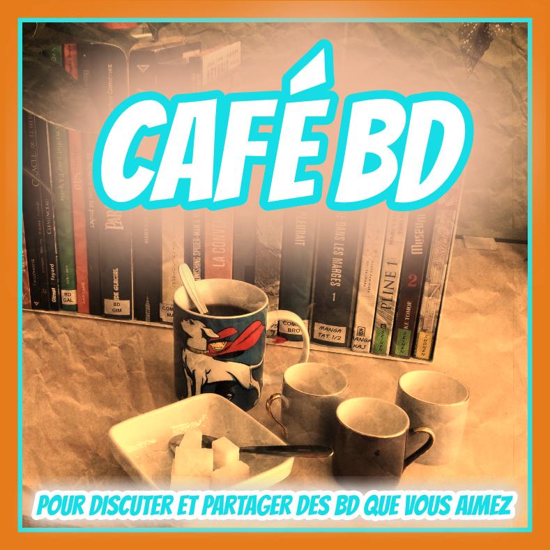 Café BD Médiathèque de la Canopée la fontaine Paris