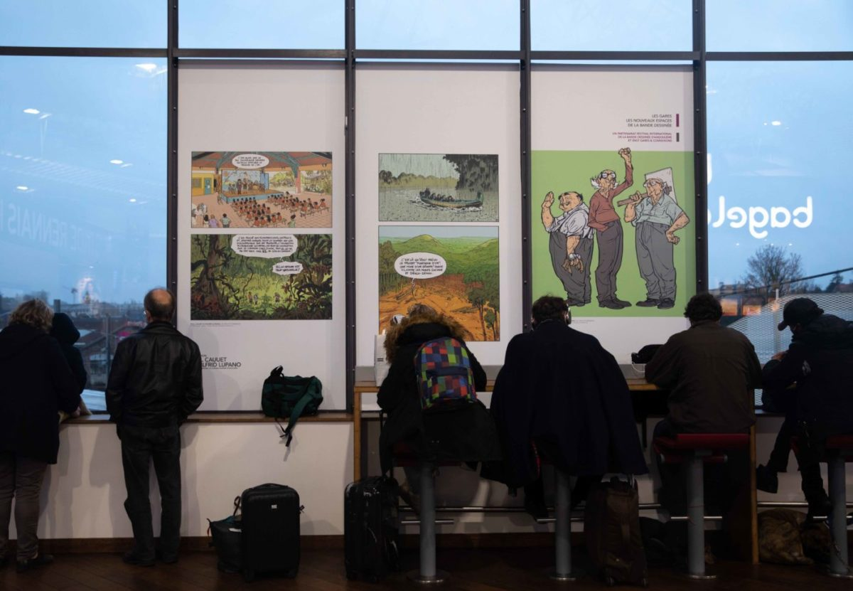expo bd gare rennes