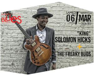 KING SOLOMON HICKS + LITTLE MOUSE & THE FREAKY BUDS L'ODÉON - Scène Musicale de Tremblay Tremblay-en-France